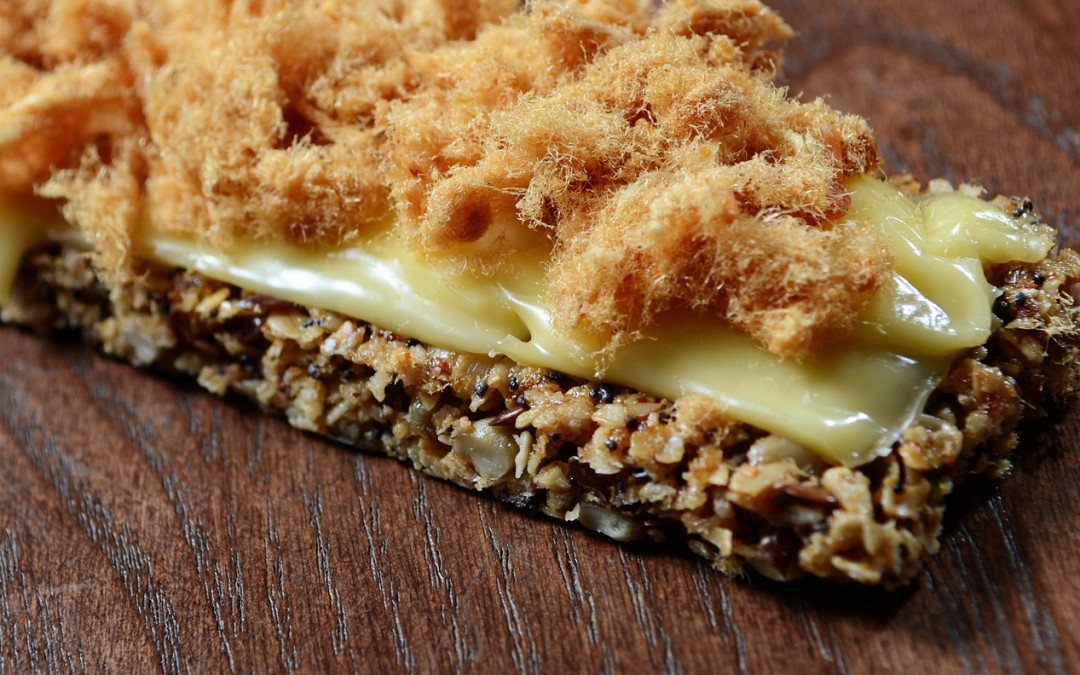 Granola Bar with Cheese & Chicken Floss